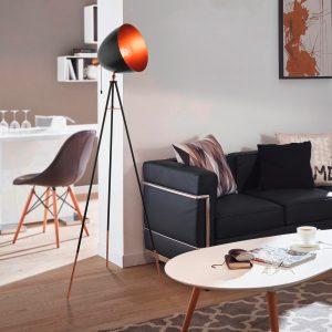 chester vloer lamp la chaise longue cinema bioscoop lamp koper kleur