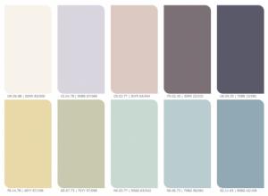kleuren trends op gebied van verf
