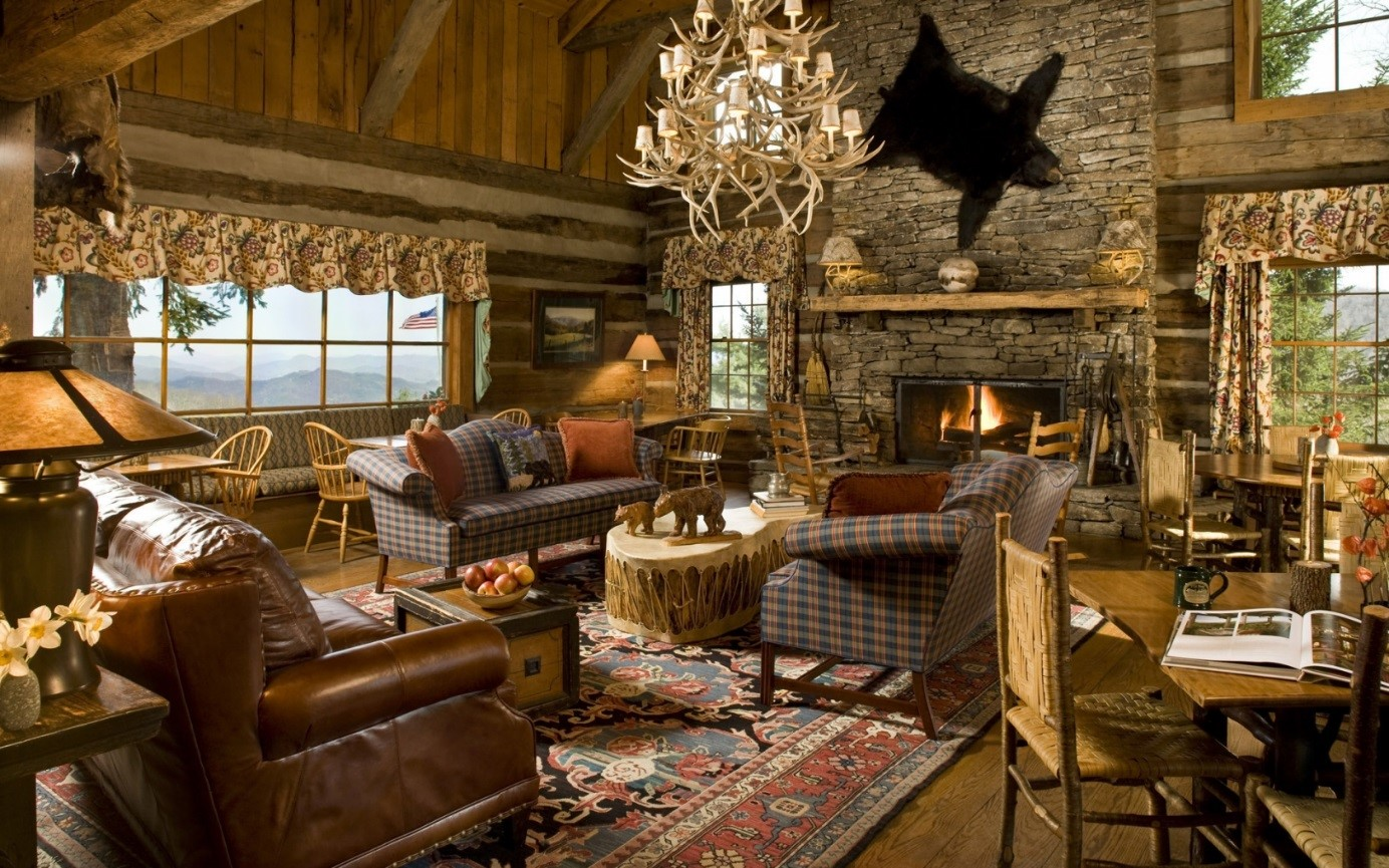 houten interieur warme stijl
