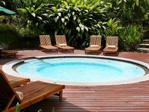 spa wellness voor in de tuin